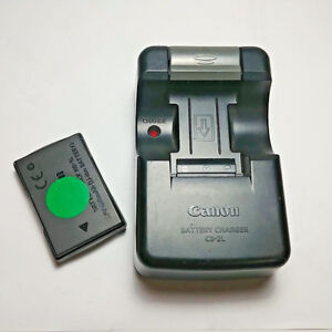 Genuine CANON CB-2L Battery Charger & Battery Pack NB-1L