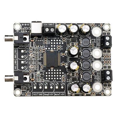 WONDOM 2X15W 4 ohm Class-D Audio Amplifier Board TA2024 2.0 12V