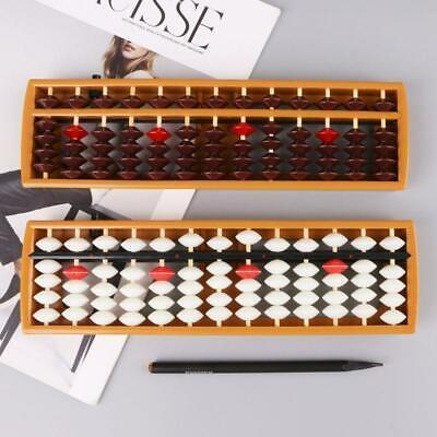 13 Digits Column Abacus Arithmetic Soroban Caculating School Math Learning Tools