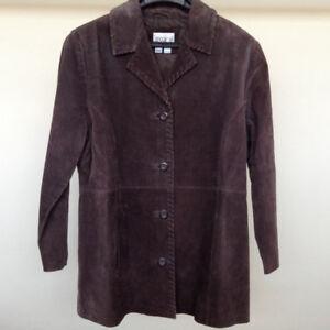 100% Genuine Suede Jacket, Size Medium – Perfect Condition