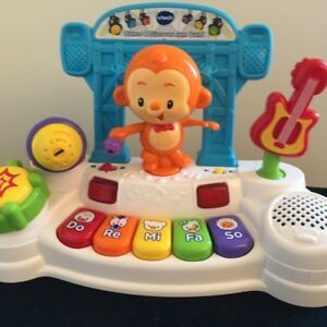 VTech Dance and Discover Jam Band Baby Piano Toy -$15