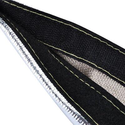 Abdeckung Hitzeschutz Arm Wrap Kabelbaum Rohr Haken und Ösen Werkzeug Teile 1pc