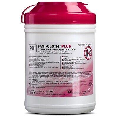 PDI Sani-Cloth Plus Germicidal Disposable Cloth, Large 160wipes