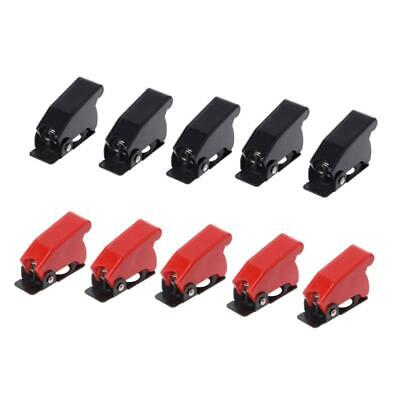 5 Pcs Plastic 12mm Toggle Switch Safety Cover Protector Cap Guard