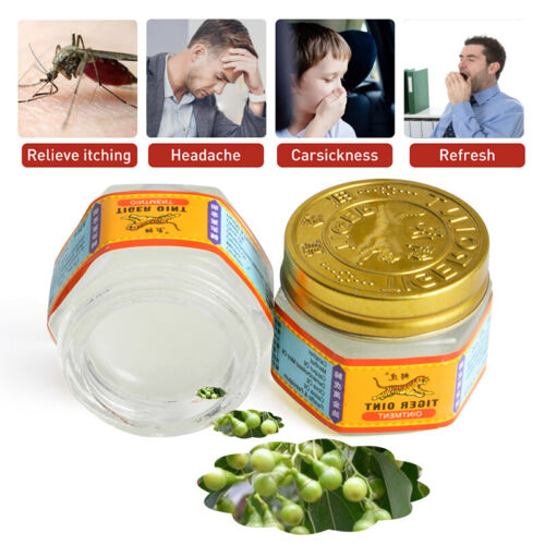 TIGER Balm Relief From Headaches, Pain, Muscle And Bone Aches Herbal, Red White Health & Beauty