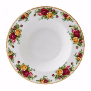 """Royal Albert """"Old Country Roses"""" Rimmed Soup Bowls *Brand New*"""
