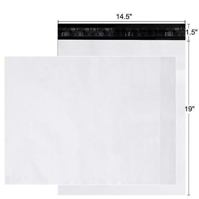 100-1000 14.5 X 19 Poly Mailers Shipping Envelopes Bag Self Sealing Bags 2.5 Mil