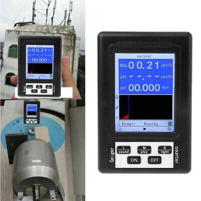 Geiger Counter Nuclear Radiation Detector Beta Gamma X Ray Dosimeter Monitor