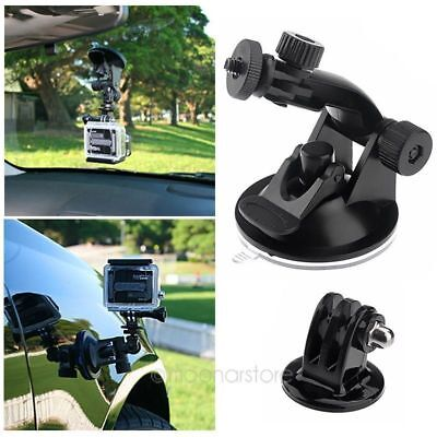 Car Window Windshield Glass Suction Cup Mount for GoPro 4 3 2 1 Action Camera US (Gopro Suction Cup Mount)