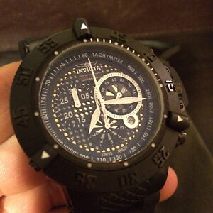 Invicta 6043 Mens Subaqua Collection Noma III Chronograph Black