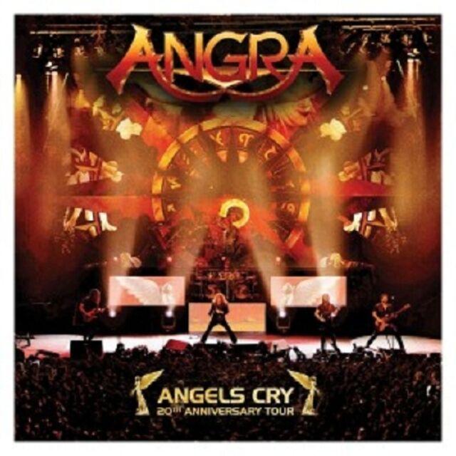 ANGRA - ANGELS CRY-20TH ANNIVERSARY TOUR 2 CD NEU