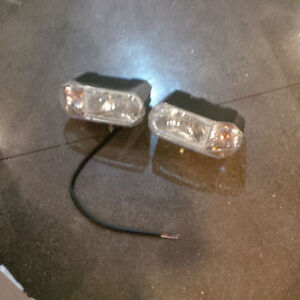 Halogen snow plow lights - New, never installed