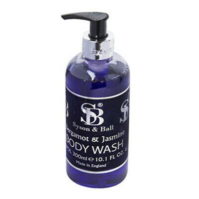Gel de Baño Bergamota & Jazmín Fragancia Por Syson & Ball - 300ml Dispensador