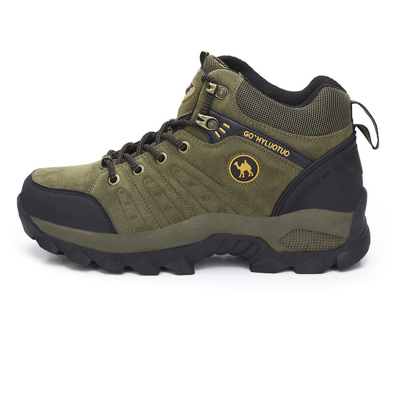 Mens winter Hiking walking Trail Waterproof Mid high-cut Boo