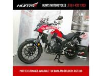 2020, '20 Honda CB500X ABS. 1 Owner. JUST 2,063 MILES. Honda Warranty. £5,195