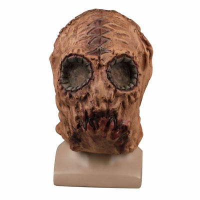 2018 Game SCUM Mask Scarecrow Mask Halloween Scary Adult Mask Horror Latex Prop