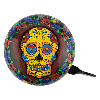 Clean Motion Bicycle Bell Ding Dong Sugar Skull