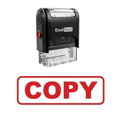 Box Copy Stamp - Self-inking Red