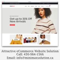 Attractive eCommerce Shopping Website Design Web Development