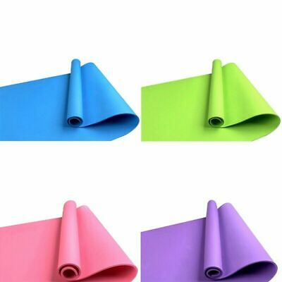 4mm Yoga Mat Non-Slip Pilates Pad Fitness Gym Exercise Sport Home Workout Campin 4