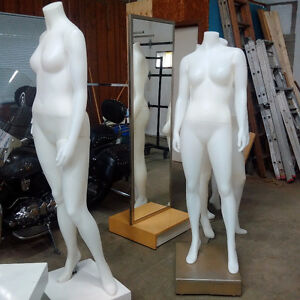 Assorted Female Mannequins