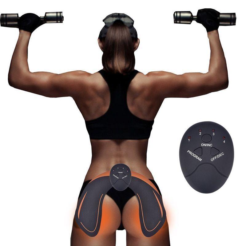 Trainer Muscle Toner Stimulator Abs Butt Hips Buttock Hip Em