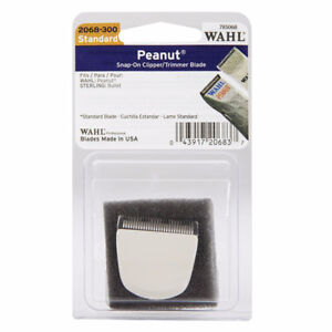 Wahl Professional Peanut Snap On Clipper/Trimmer Blade (White) #