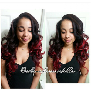 WEAVES, MICRO LINKS, EXTENSIONS,UNITS, RELAXERS,PONYTAILS, 360