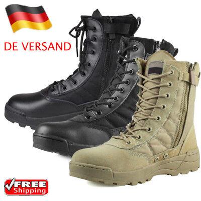 Männer Militärische Taktische Stiefel Desert Combat Army Wandern Reisen Schuhe (Combat Schuhe Für Männer)