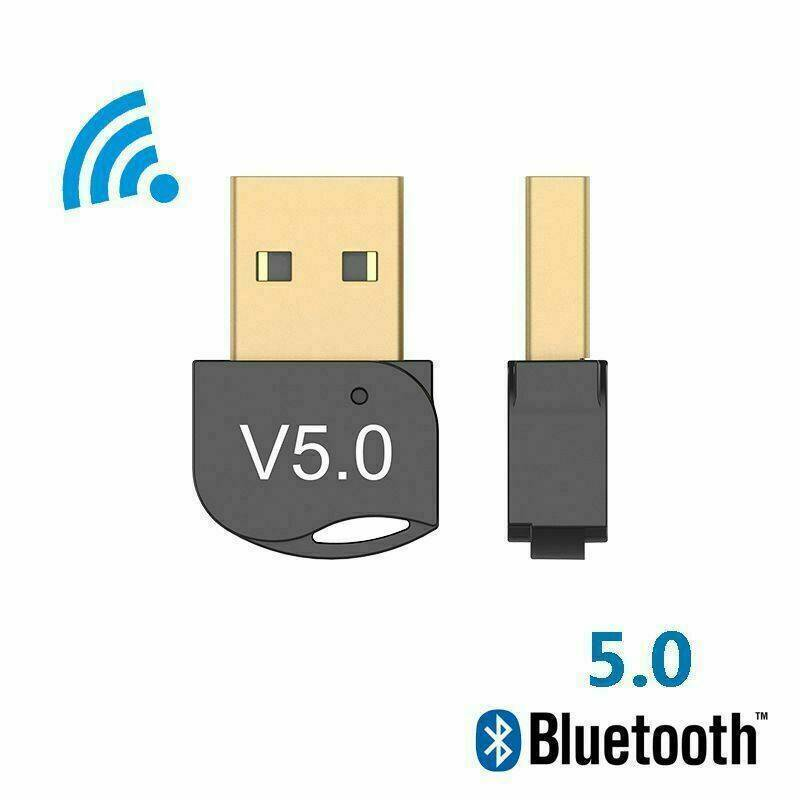 USB Bluetooth V5.0 Wireless Mini Dongle Adapter For Windows