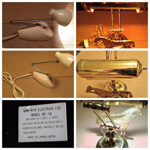 Mid Century Modern Desk Lamps X2