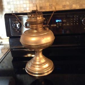 Copper oil lamp