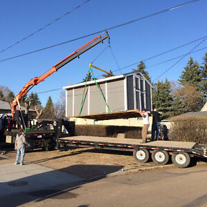 PICKER TRUCK FOR HIRE !!! HOIST SHEDS, HOT TUBS, BOULDERS ECT. Strathcona County Edmonton Area image 6