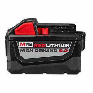 Milwaukee Red Lithium M18 HIGH DEMAND 9.0 !!