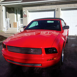 2008 Ford Mustang Convertible with Dual Borla Exhaust