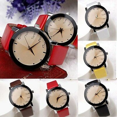 Fashion Neutral Leisure Letters Motion Simulation Of Electronic Quartz Watches