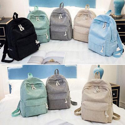 Schulrucksack Sportrucksack Schultertasche Mädchen Rucksack Einfarbig Backpack