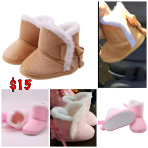Fall/winter boots n shoes for infants/baby.