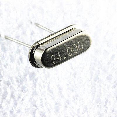 QTY 200 24 MHz 20pf HC-49//S LOW PROFILE CRYSTALS FOXS//240F-20 FOX  24.0000MHz