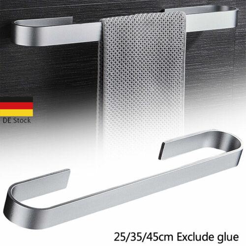 25/45cm Handtuchstange Handtuchhalter Bad ohne Bohren Handtuchständer Dauerhaft