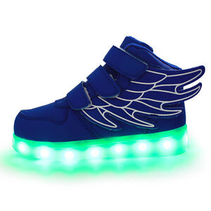 NEW LED Shoes - Adult/Child sizes, rechargeable LED/incl char
