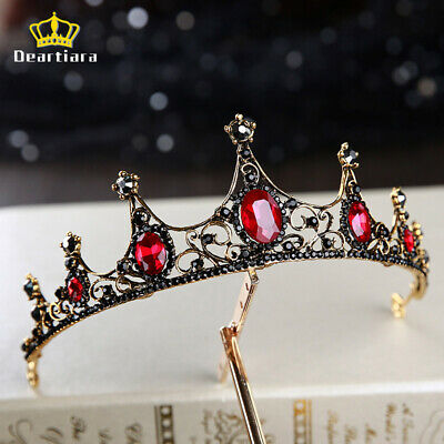 Medieval tiara Queen Party Black Tiara Crown Diadem Headbands