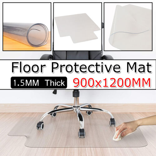 Home Office Desk Chair Mat for Hardwood Hard Floor Protectio