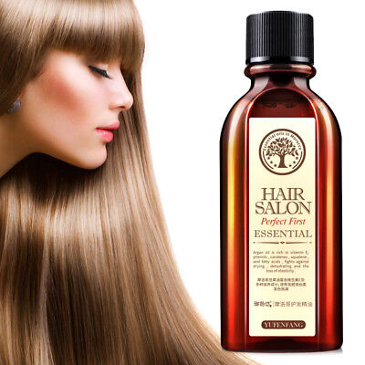 Hair Care Essential Oil Treatment for Moisturizing Soft Hair 60ml Pure Argan Oil