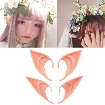 1 Pair The Hobbit Latex Elf Ears Cosplay Party Props Creative Halloween Costume](The Hobbit Elf Costume)
