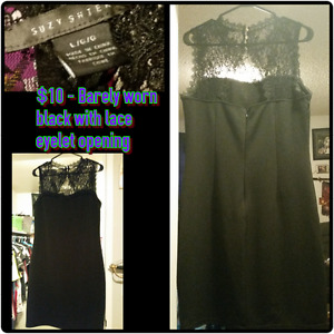 Dresses. Various styles and sizes