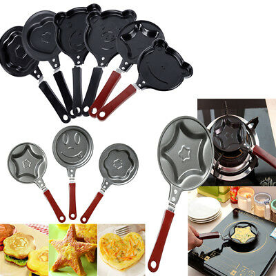 Mini Egg Pan Non Stick Frying Pan Small Pancake Cookware for Kitchen/Baby Food