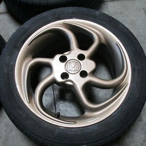 "16"" Rims With Tires - 4x100 Bolt Pattern"