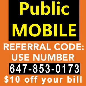 $10 public mobile referral code + all promos