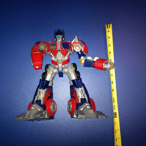 "Optimus Prime Transformers Figurine 12"" - Sounds & Lights"
